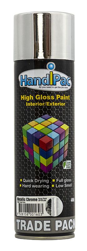 Handipc 400ml Chrome Trade Pack